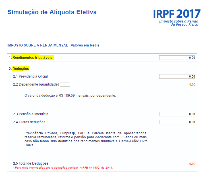 Cálculo IRPF 2020
